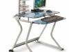 Стол стеклянный компьютерный DL-010PG – 6000 рублей