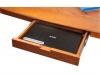 Стол письменный, деревянный, натуральный шпон, арт. WT-001/pecan – 8100 рублей