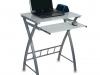 Стол для компьютера, красное закаленное стекло, выдвижная полка под клавиатуру GD-003 – 3600 рублей