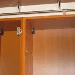 Восстановление геометрии корпуса навесного шкафа
